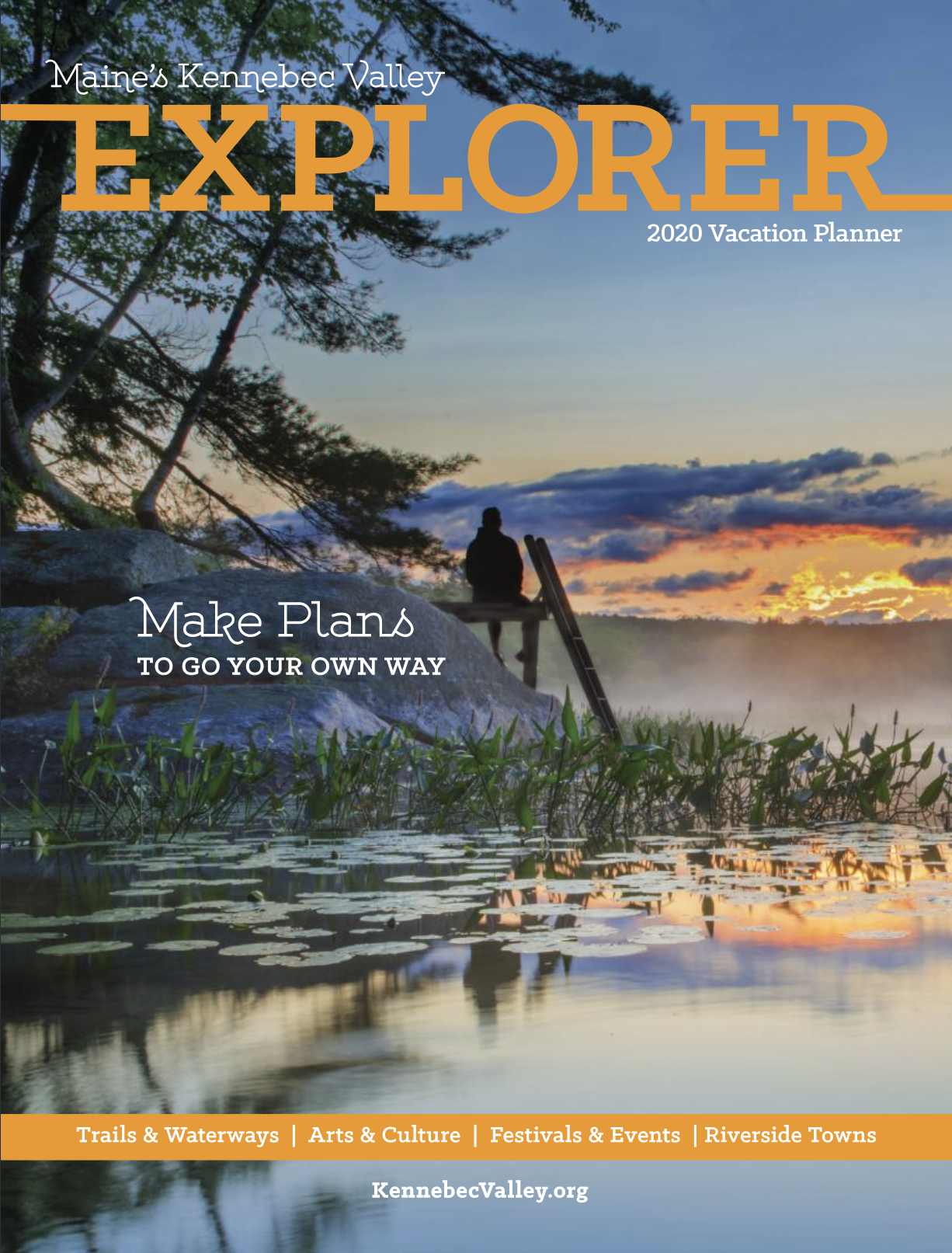 Kennebec Valley Explorer Cover 2020